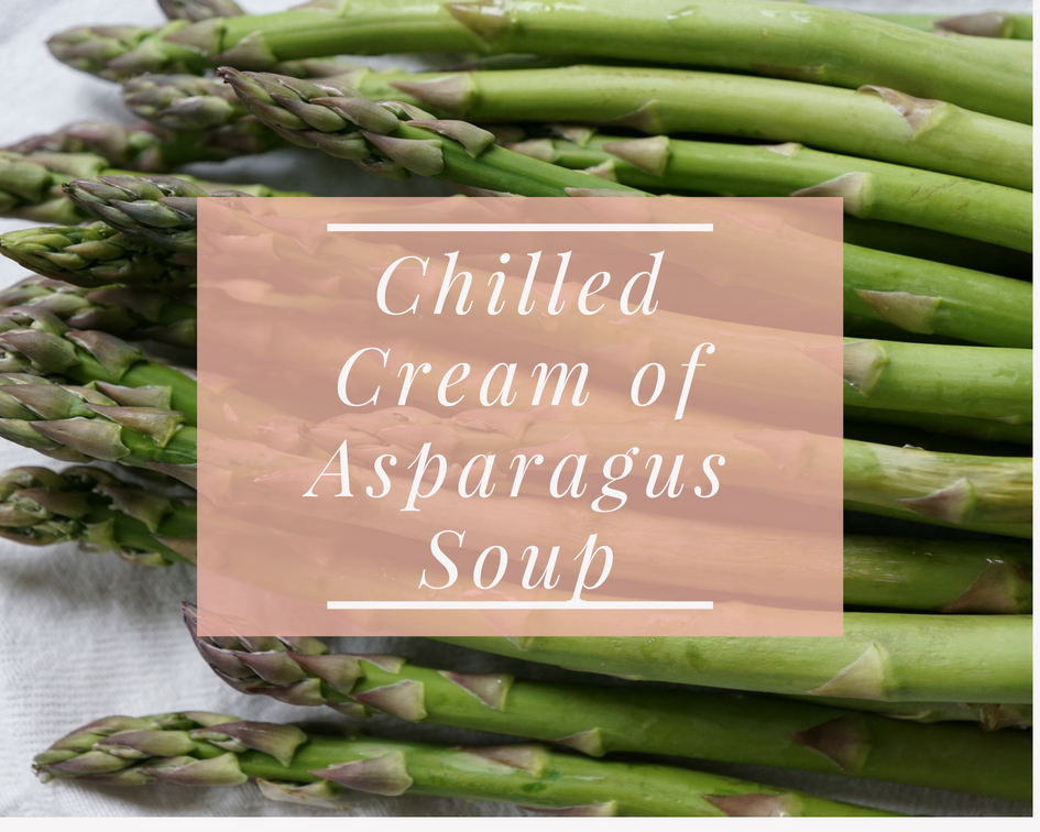 Chilled Cream of Asparagus Soup